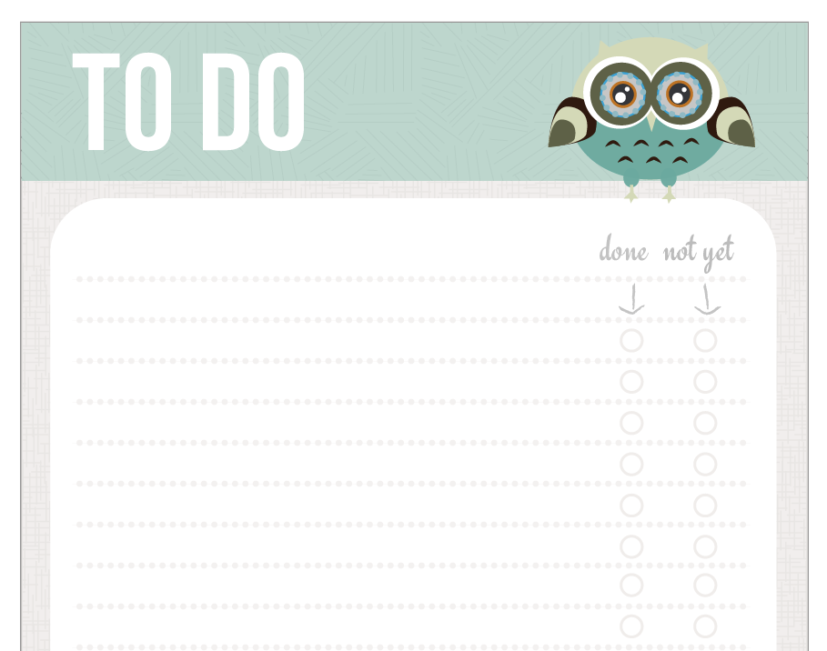 Connu to do list UB59
