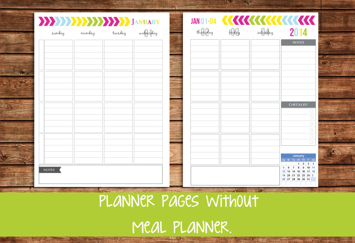 The All New 2014 Everyday Planner Printables - Sweet Paper Trail