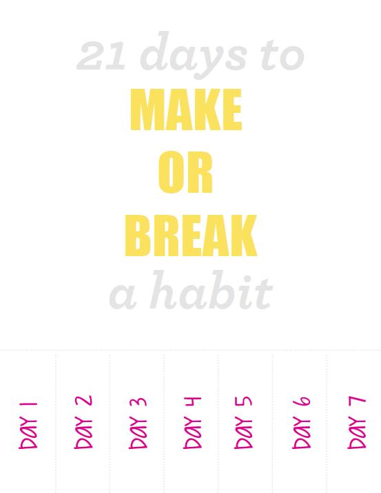 21 a short time to make sure you escape your habit explore papers