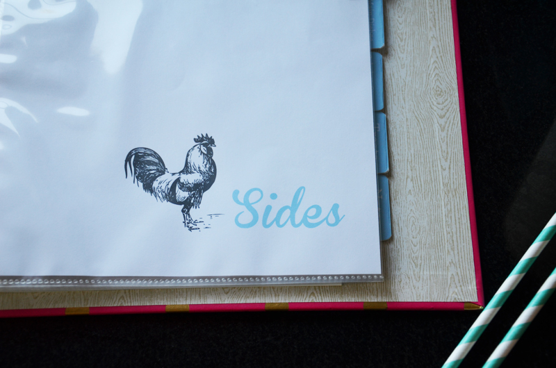 cookbook dividers