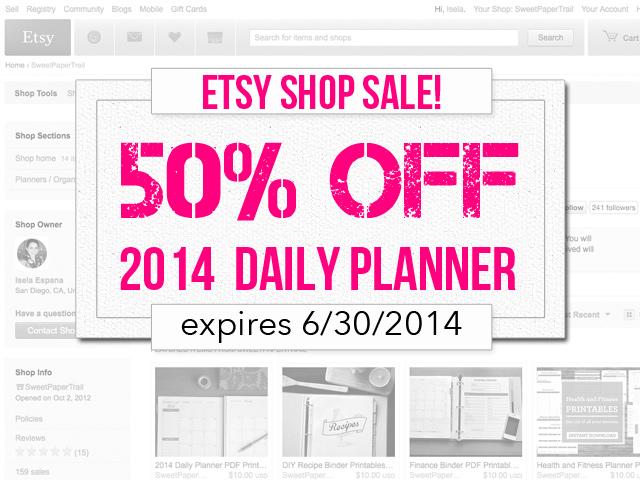 planner sale