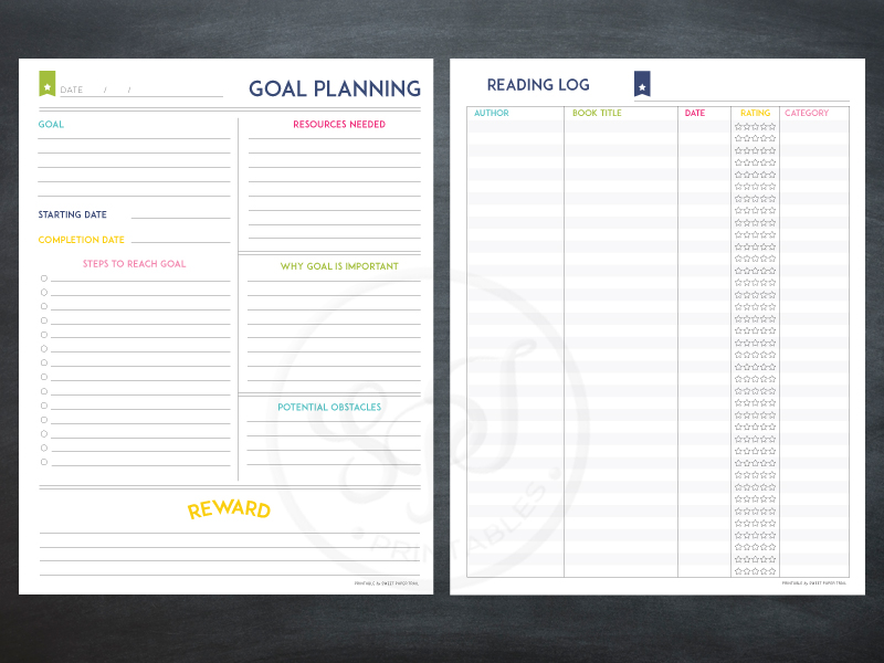Lesson Planner Template The Deluxe Homeschool planner – Goal Planning Template